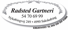 Radsted Gartneri logo